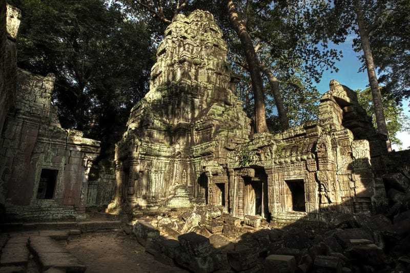 Something was hiding near the Temples of Angkor Wat. (Image: Getty Images)
