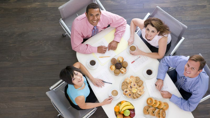 Illustration for article titled Your Pushy Coworkers Might Be Making You Fat