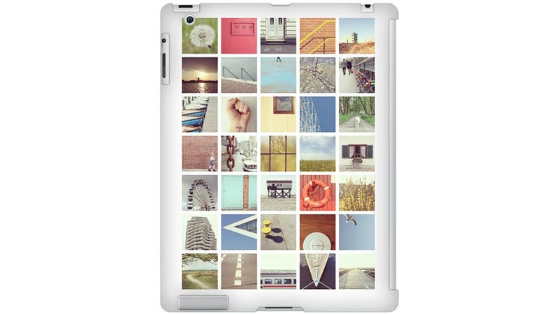 Illustration for article titled Turn Your Instagram Photos Into a Lovely iPad Case