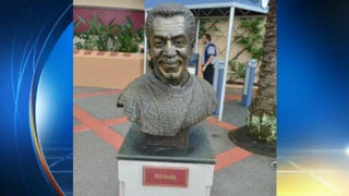 Bill Cosby bust at Hollywood Studios WPLG
