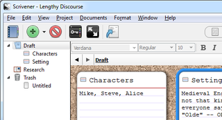 Illustration for article titled Scrivener Writing App Offers Extended Beta Trials on Mac and Windows