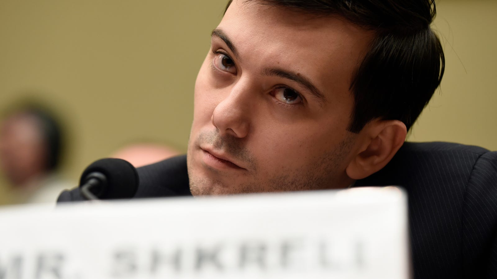 photo image Martin Shkreli Gets Himself Thrown in Jail Ahead of Schedule