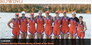 Illustration for article titled The Clemson Women's Rowing Team About To Become Famous For All The Wrong Reasons