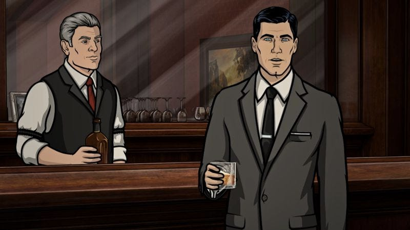 Illustration for article titled It's about time: Sterling Archer reviews every James Bond film