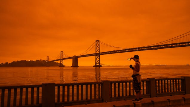 California s Red Skies Aren t Just a Glimpse of Our Future—They re Past Mistakes Come to Life