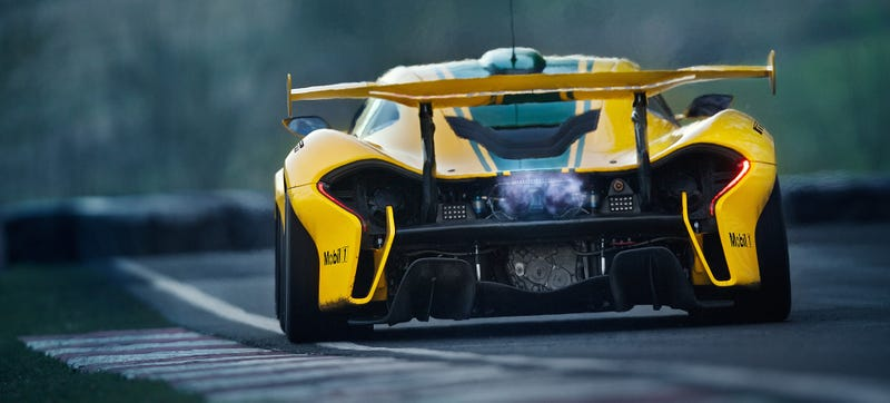 Illustration for article titled How To Drive A McLaren P1 GTR