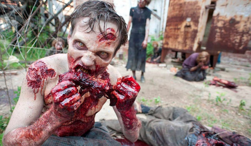"When you think ""zombie,"" you think this. Or at least you did. Image: AMC"