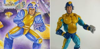 Illustration for article titled The Worst Mega Man Box Art Makes for the Best Action Figure
