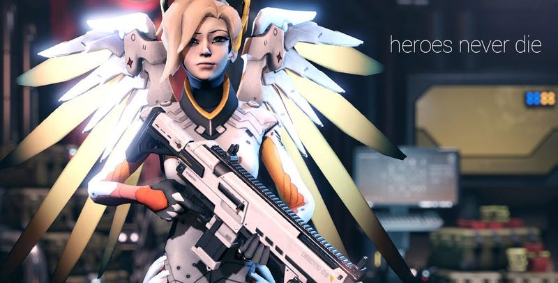 Illustration for article titled Here's Overwatch's Mercy In XCOM 2