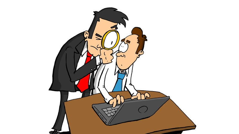 Illustration for article titled How Can I Look for a New Job When My Company Is Checking on Employees?