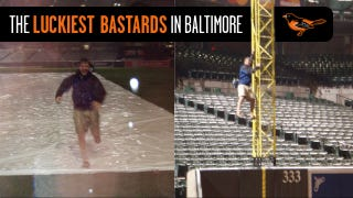 Illustration for article titled The Story Of Two Guys Who Got Locked In At Camden Yards And Lived Out Every Fan's Dream