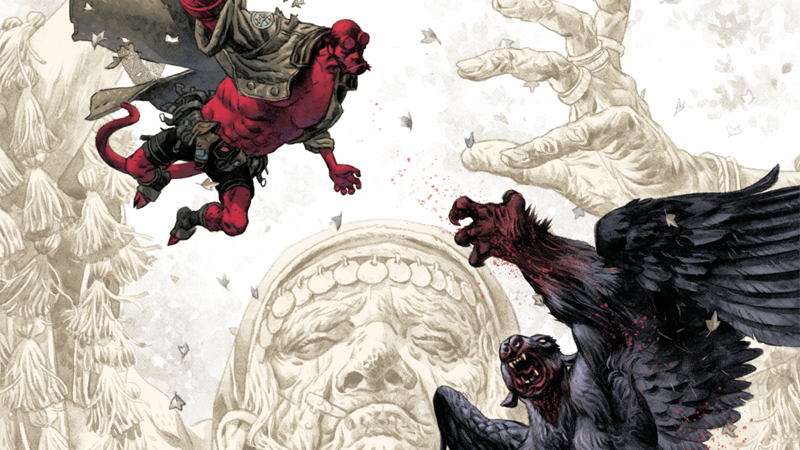 Hellboy heads to Romania in the latest BPRD adventure.