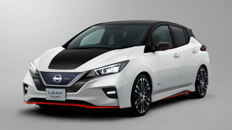 Illustration for article titled Nissan Might Nismo The Leaf For The Youths [UPDATE]