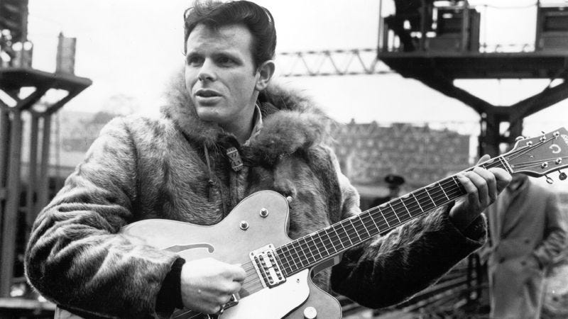 """Illustration for article titled Del Shannon's """"Runaway"""" gave the singer a haunting, unstoppable hit"""