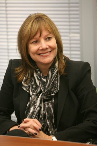 Illustration for article titled Mary Barra, first woman CEO of a major automaker
