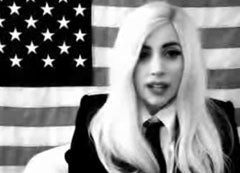 """Illustration for article titled Lady Gaga To Lead Rally Against """"Don't Ask, Don't Tell"""""""
