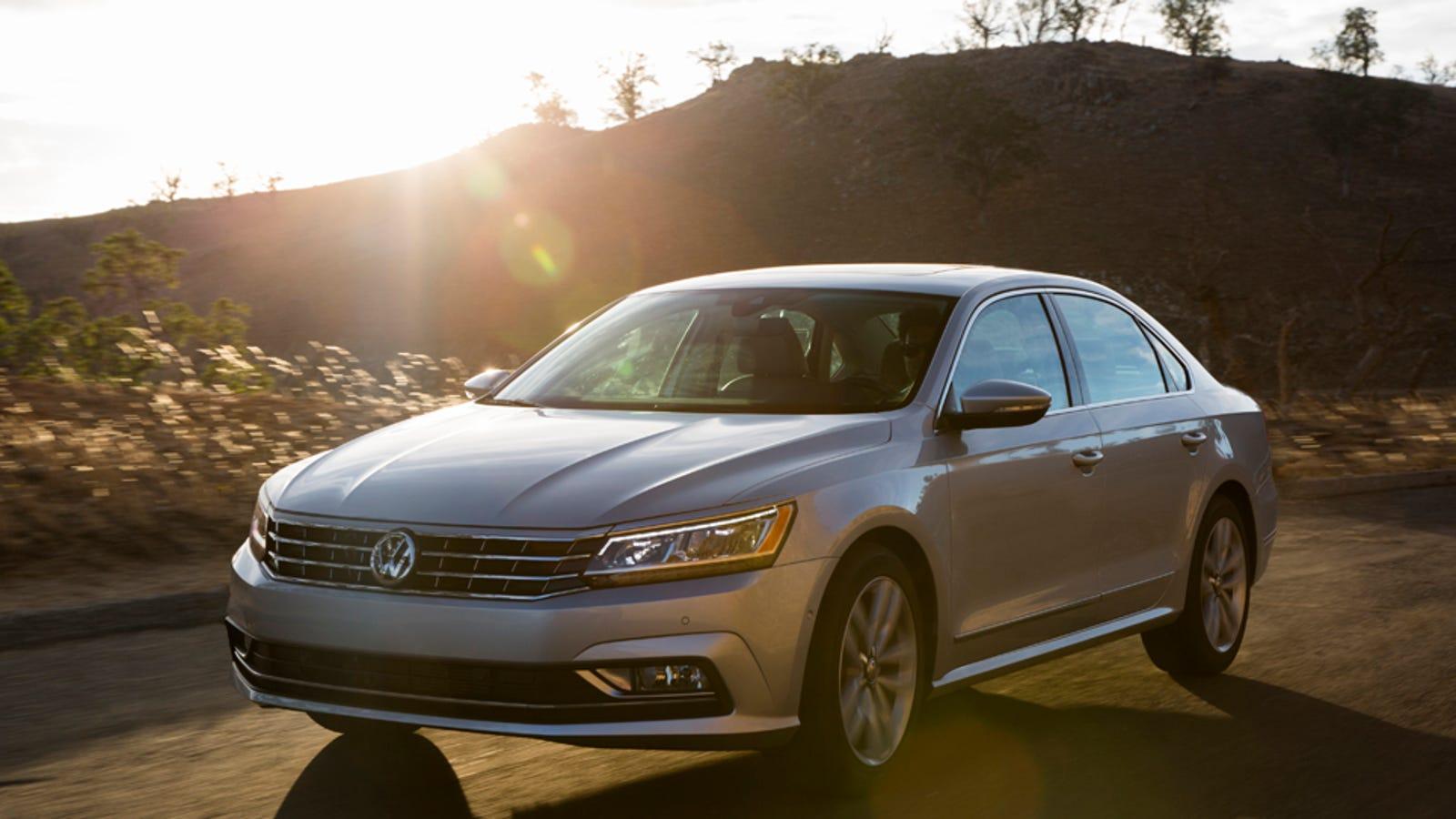 The 2016 Volkswagen Passat Fixes The Old Passat's Biggest Flaw, But