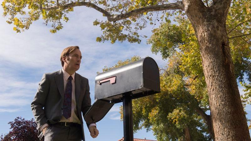 Jimmy at Chuck's mailbox