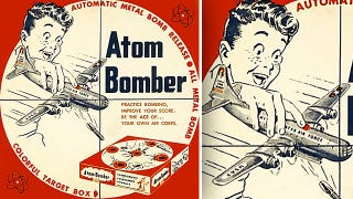 Illustration for article titled Educational Toys Of Yesteryear Taught Important Atomic Bomb Dropping Skills