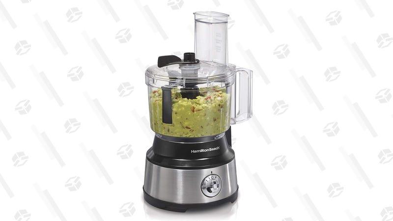 Hamilton Beach Food Processor & Vegetable Chopper with Bowl Scraper, 10 Cup | $33 | Amazon