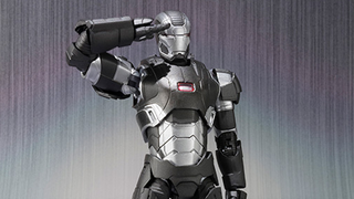 Illustration for article titled Bandai's War Machine Toy Comes Complete With Patriotic Action Features
