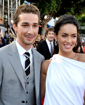 Illustration for article titled Megan & Shia Probably Said Something Untoward At Transformers Premiere