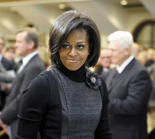 First lady of the United States Michelle Obama