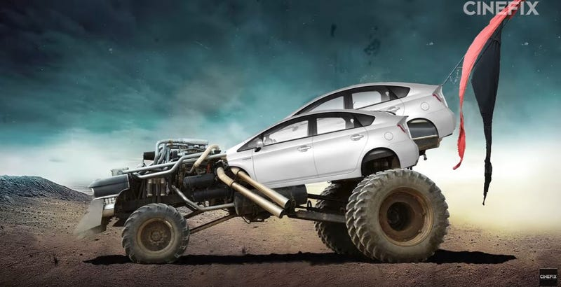 Illustration for article titled prius fury road