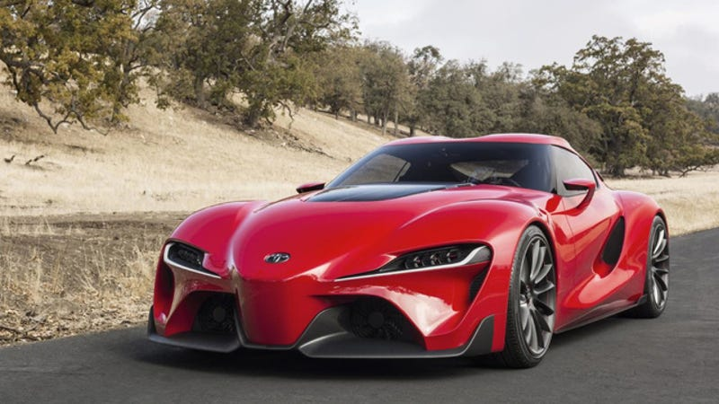 Toyota Ft 1 >> The Toyota Ft 1 Is A Slingshot And You Are Its Projectile