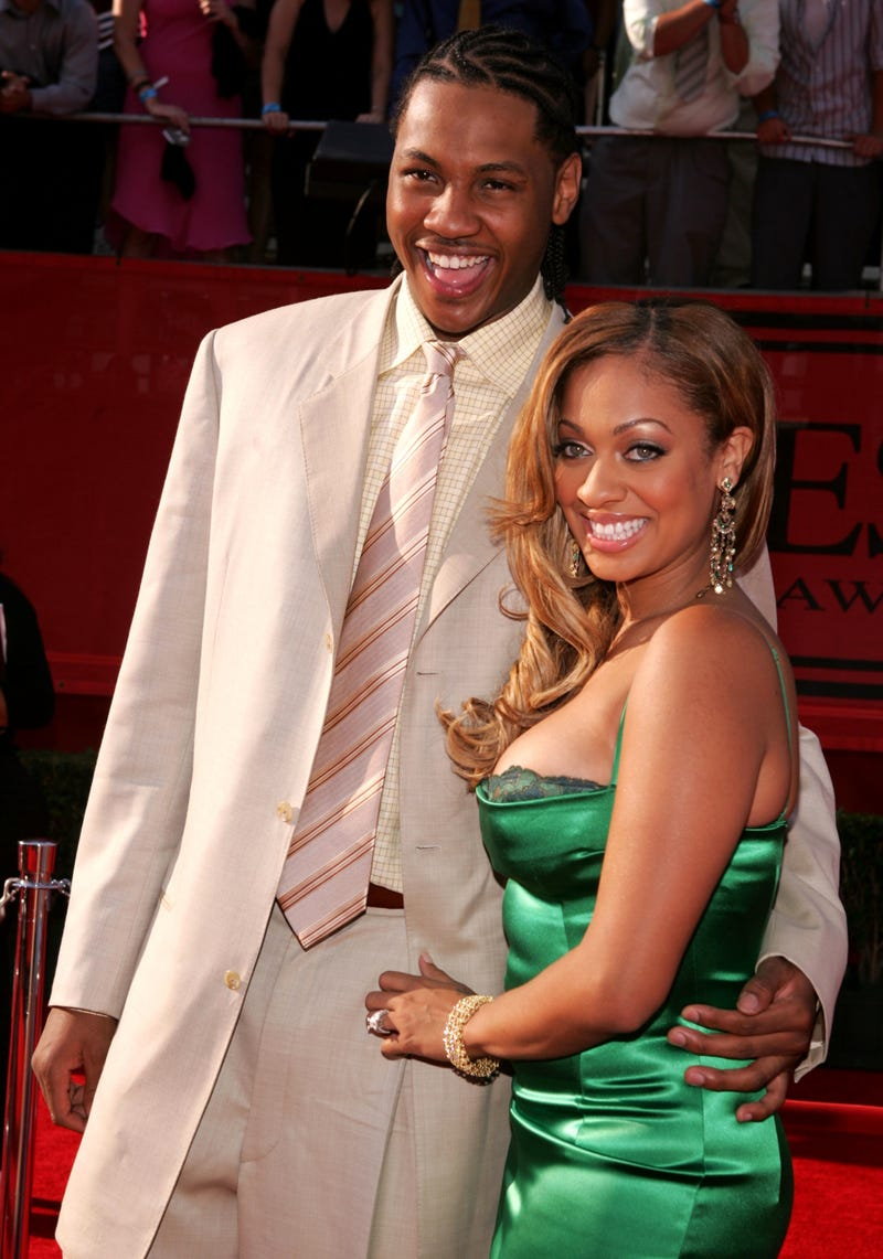 Illustration for article titled Lala Vasquez and Carmelo Anthony Tie the Knot