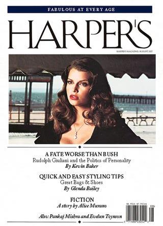 Illustration for article titled The 'Harper's Bazaar' Index: August 2007