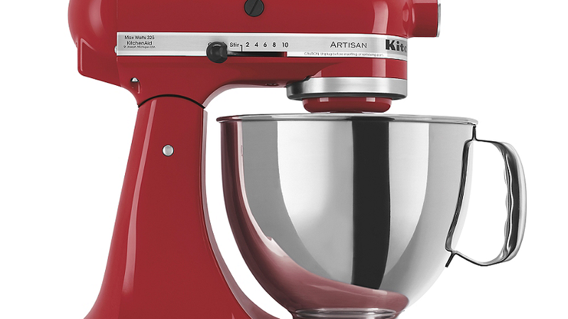 The Professional Series 6-Quart Bowl-Lift Stand Mixer is perfect for heavy, dense mixtures. Burnished metal flat beater, PowerKnead Spiral dough hook and 6-wire whisk will help you mix, knead and whip ingredients into culinary masterpieces quickly and easily.