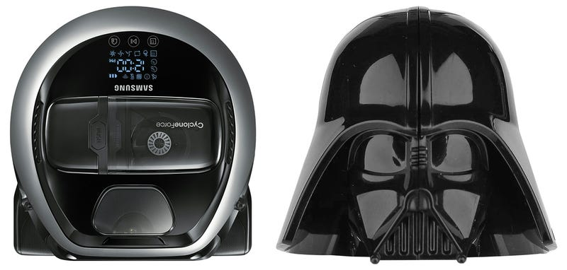 Samsung S New Robot Vacuum Cleaner Looks Like Darth Vader