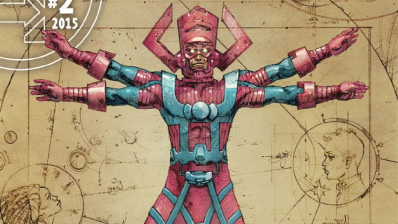 Illustration for article titled Exclusive Marvel preview: The Ultimates offer a solution to the Galactus problem