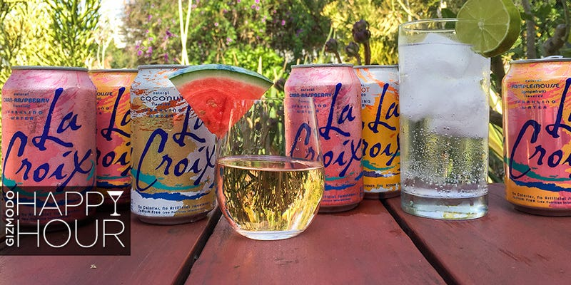 Illustration for article titled 9 Cocktails Made With LaCroix, a Sparkling Water With a Cult Following