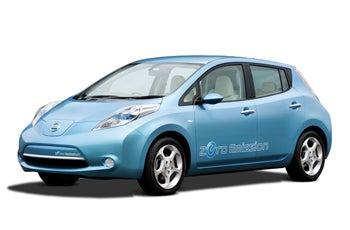 Illustration for article titled Nissan's LEAF Gets Its Tailpipe Chopped Off in the Name of Zero CO2 Emission