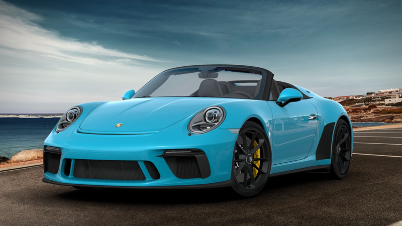 Illustration for article titled How Would You Configure Your Porsche 911 Speedster, if You Weren't Too Broke to Buy One?