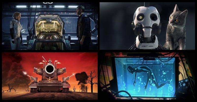 Love, Death & Robots la nueva serie de Netflix de David Fincher y Tim Miller.