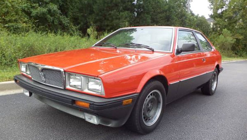 for 6 500 would you let this 1985 maserati biturbo e get away