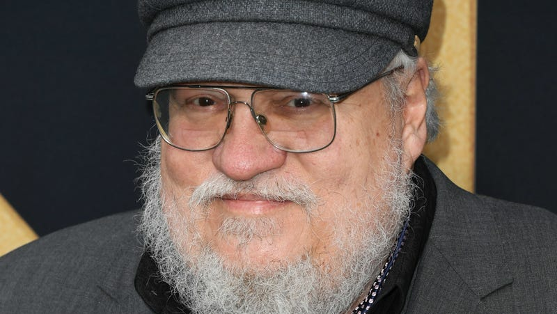 Illustration for article titled George R.R. Martin just like the rest of us, puts off important projects by messing with video games