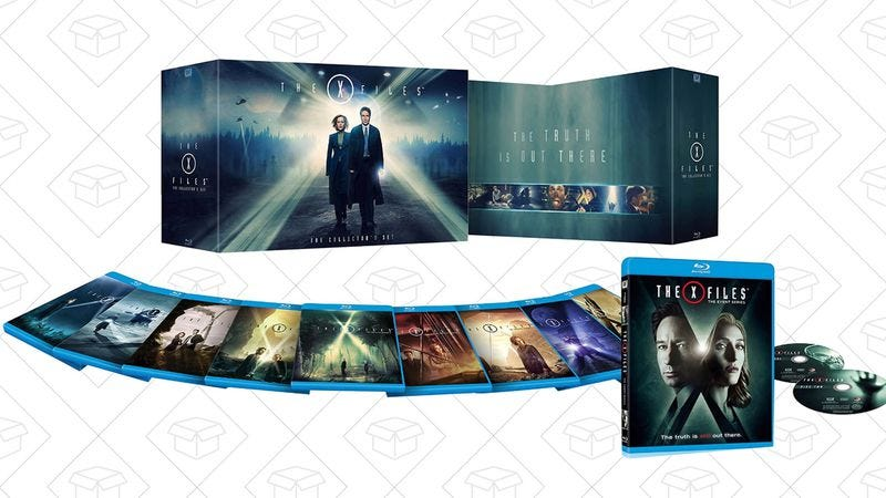 Illustration for article titled Today's best deals: X-Files, Logitech peripherals, and more