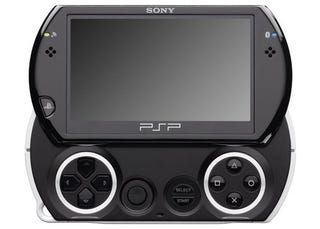 Illustration for article titled PSP Go Leaked: Slider With 16GB of Flash Storage and Bluetooth
