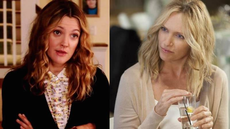 Drew Barrymore in Blended and Toni Collette in The Way Way Back