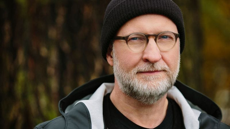 Illustration for article titled Patch The Sky finds Bob Mould in spirited, cathartic form