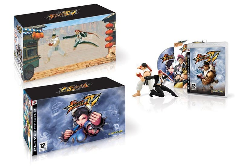 Illustration for article titled Euro SFIV Collectors Edition Boxes Detailed
