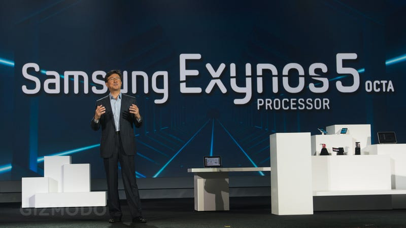 Illustration for article titled Samsung's 8-Core Exynos 5 Octa Processor: Your Next Phone Will Be Fast