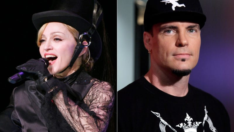 Illustration for article titled In Which Vanilla Ice Recounts Playing Dress-Up with Madonna