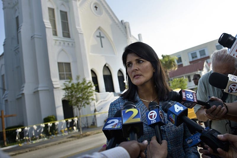 Illustration for article titled Nikki Haley Calls For the SC Confederate Flag to Finally Be Removed