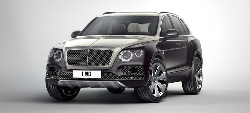 Illustration for article titled The Bentley Bentayga Mulliner Is For One-Upping Those Other Losers At The Country Club