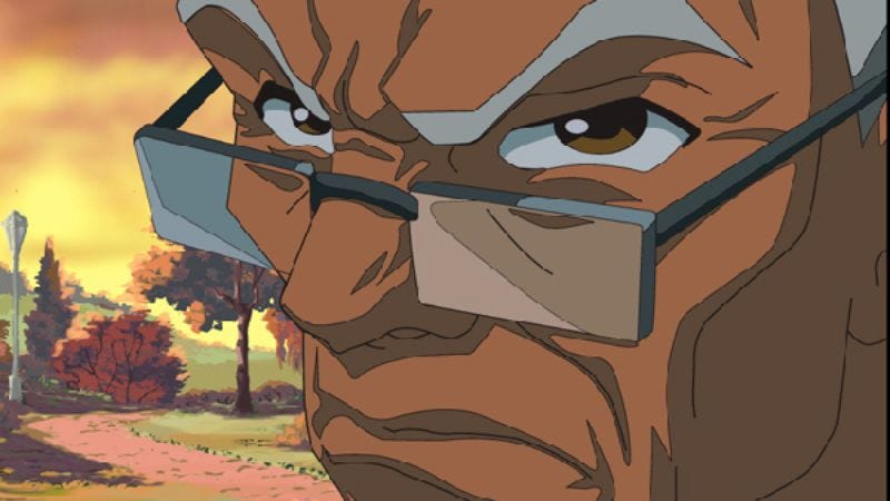 """Illustration for article titled The Boondocks: """"Lovely Ebony Brown"""""""
